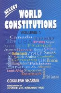 Select World Constitutions, 2 Vols.: Dr Gokulesh Sharma; Foreword By Justice V.R. Krishna Iyer