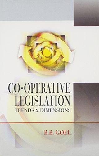 Cooperative Legislation: Goel, B.B.
