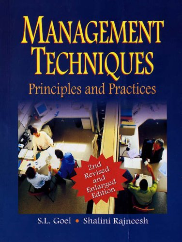Principles And Practices Of Management Book