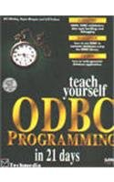 9788176350297: TEACH YOURSELF ODBC PROGRAMMING IN 21 DAYS