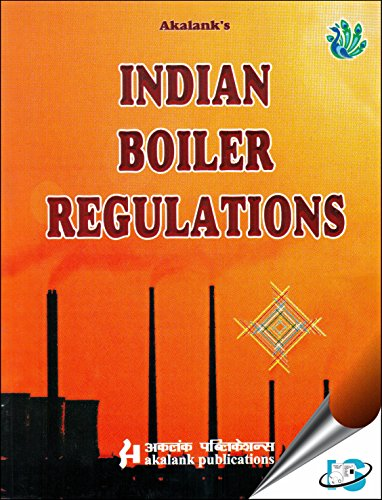 9788176393560: Indian Boiler Regulations, 16th Edition