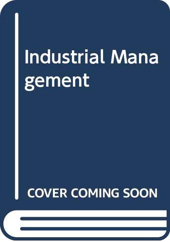 Industrial Management: B. Narayan