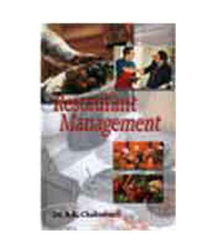 Restaurant Management: B K Chakravarti