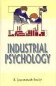 Industrial Psychology: R Jayaprakash Reddy
