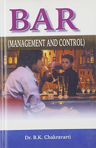 9788176486927: Bar Management and Control
