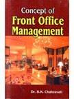 Concept of Front Office Management: B.K. Chakravarti