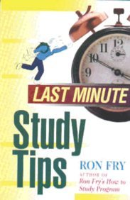 Last Minute Study Tips: Ron Fry