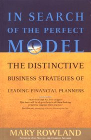 9788176498371: In Search Of the Perfect Model: The Distinctive Business Strategies of Leading Financial Planners