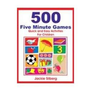 9788176498494: 500 Five Minute Games: Quick and Easy Activities for Children