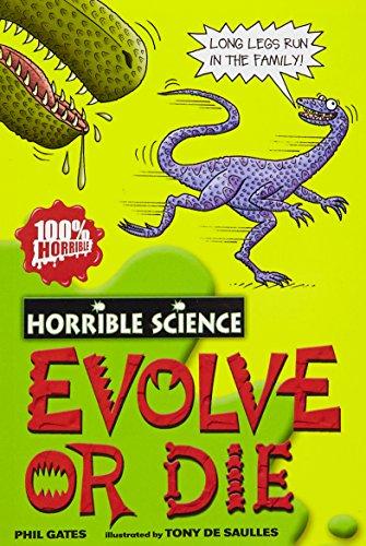 9788176553995: Horrible Science: Evolve Or Die