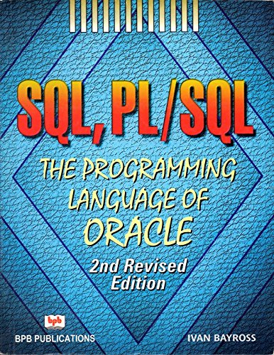 9788176560726: SQL, PL/SQL the Programming Language of Oracle