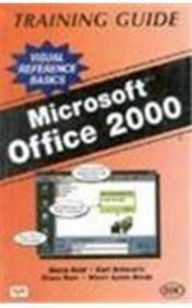 9788176562034: MS Office 2000 Training Guide