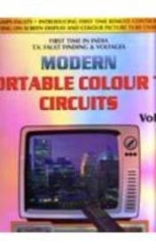 Modern Portable Colour TV Circuits (T.V. fault: M. Lotia