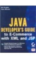 9788176563628: Java Developers Guide To E-Commerce With Xml & Jsp