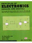 Principles of Electronics: Analog and Digital (Paperback): Madhulika Jain, Prof.