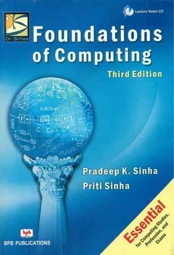 Foundations of Computing (Third Edition)