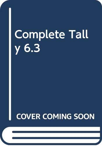 Complete Tally 6.3 (Paperback): A.K. Nadhani