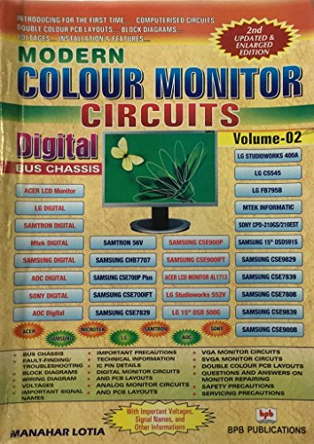 Modern Colour Monitor Circuits: Digital Bus Chassis,: M. Lotia