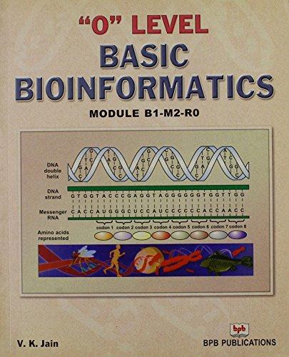 O Level: Basic Bioinformatics (Module B1-M2-R0): V.K. Jain