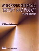 9788176710503: Macroeconomics : Theory and Policy