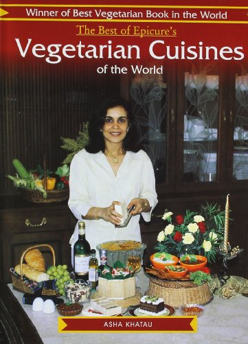9788176930840: Epicure's Vegetarian Cuisines of the World