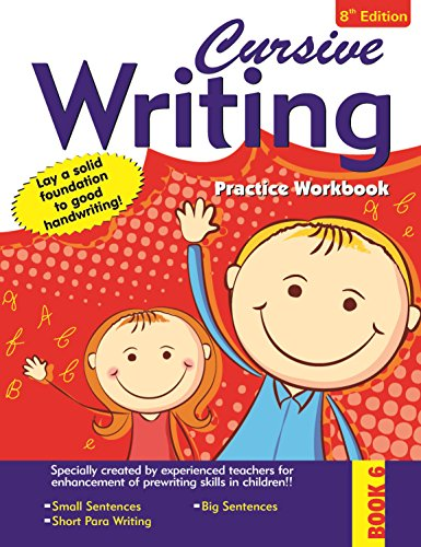9788176935593: Cursive Writing Practice Workbook - 6 (Early Skill Building)