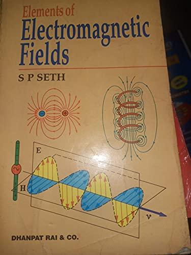 9788177000061: Elements of Electromagnetic Fields