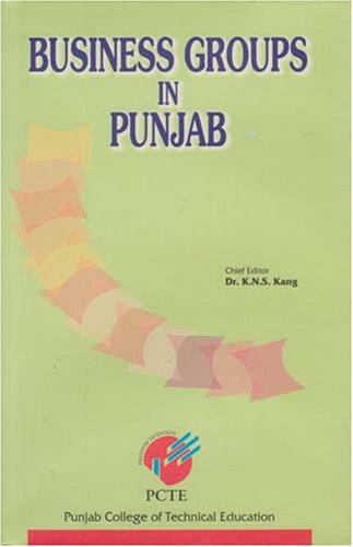 Business Groups In Punjab: K.N.S. Kang