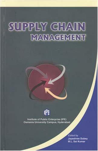 Supply Chain Management: Jayashree Dubey &