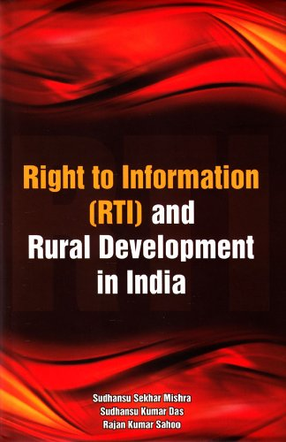 9788177082142: Right to Information (RTI) and Rural Development in India