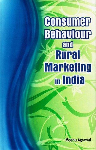 9788177082159: Consumer Behaviour and Rural Marketing in India