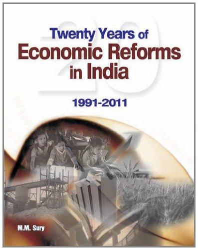 9788177082821: Twenty Years of Economic Reforms in India: 1991-2011