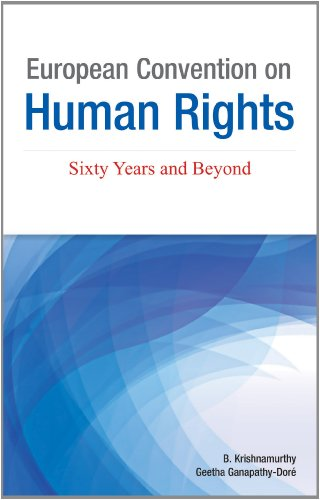European Convention on Human Rights: Sixty Years and Beyond: B. Krishnamurthy