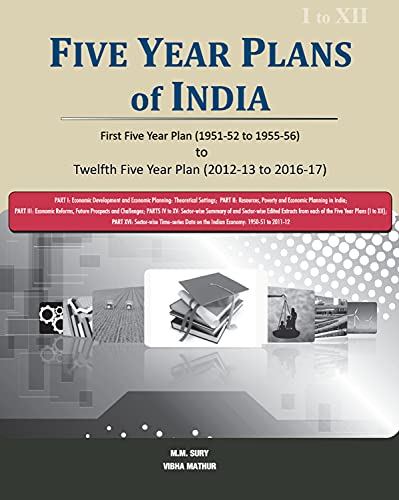 9788177083590: Five Year Plans of India: First Five Year Plan (1951-52 to 1955-56) to Twelfth Five Year Plan (2012-13 to 2016-17) [3 Volumes Set]
