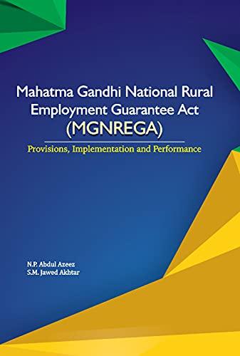 Mahatma Gandhi National Rural Employment Guarantee Act: Azeez, N.P. Abdul,