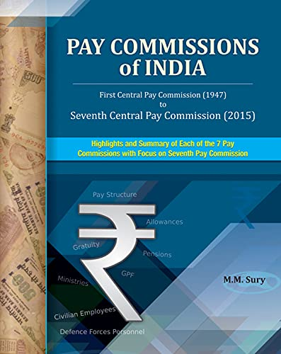 Pay Commissions of India : First Central Pay Commission (1947) to Seventh Central Pay Commission (...