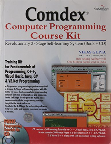 9788177222296: Comdex Computer Programming Course Kit