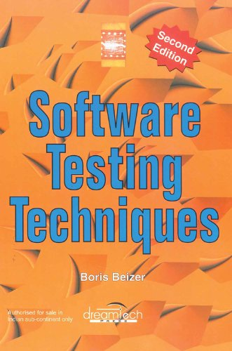 9788177222609: Software Testing Techniques