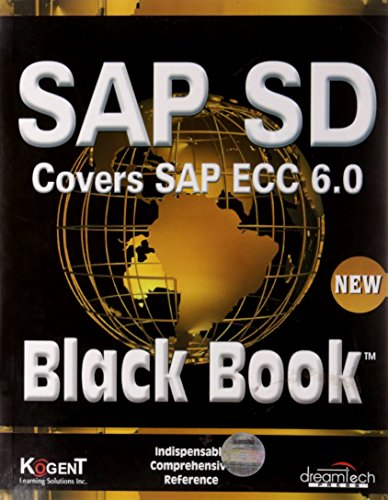 Sap Sd, Black Book: Covers Sap Ecc: Kogent Learning Solutions