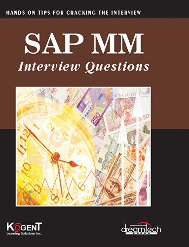 SAP MM Interview Questions: Hands on for Cracking the Interview: Kogent Learning Solutions Inc.