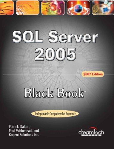 SQL Server 2005 Black Book, 2007ed, w/CD: n/a