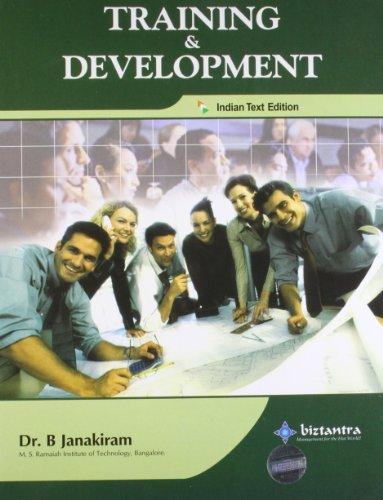 Training and Development: Dr B. Janakiram