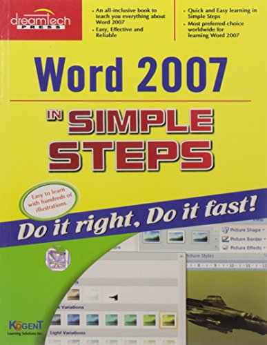 Word 2007 in Simple Steps: Kogent