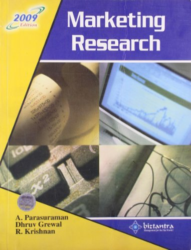 9788177227574: Marketing Research, 2009 Ed