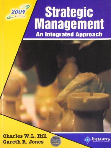 9788177227635: Strategic Management: An Integrated Approach, 2009 ed