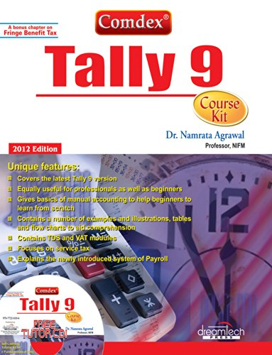 9788177228106: Comdex Tally 9 Course Kit with CD