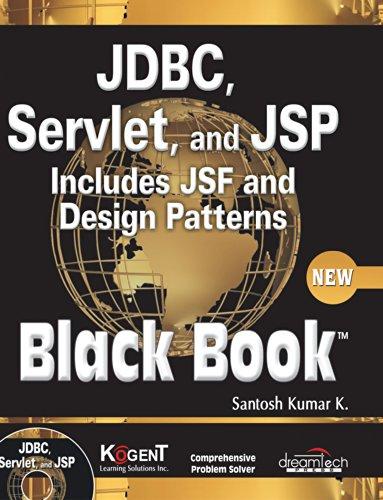 Jdbc, Servlets, And Jsp Black Book, New: SANTOSH KUMAR K.,