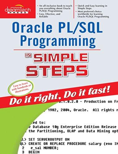 9788177228557: Oracle Pl/Sql Programming in Simple Steps