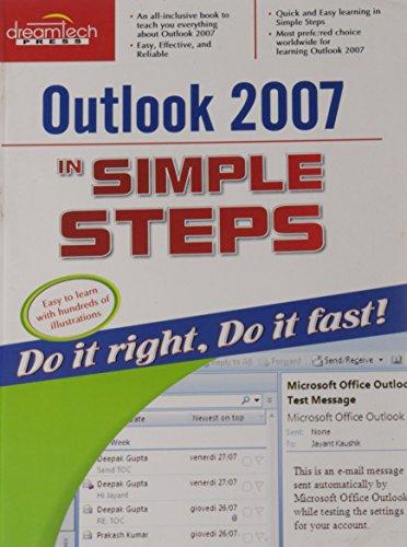 Outlook 2007 in Simple Steps: Kogent