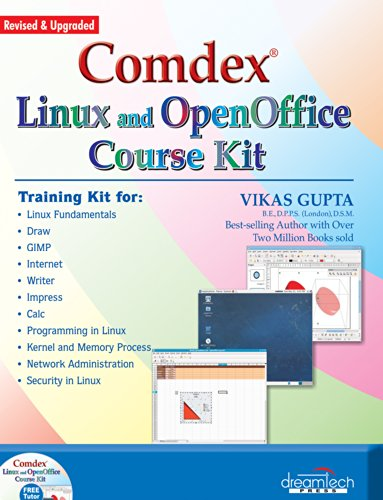 9788177229288: Comdex Linux and Open Office Course Kit